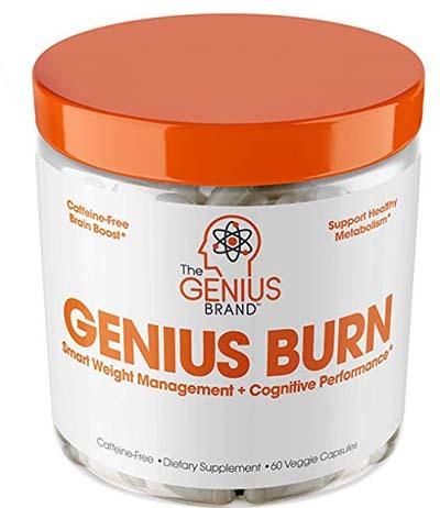 An image of Genius Burn jar