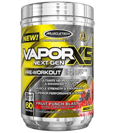 An image of Vapor X5 Jar in Fruit Punch Blast flavor