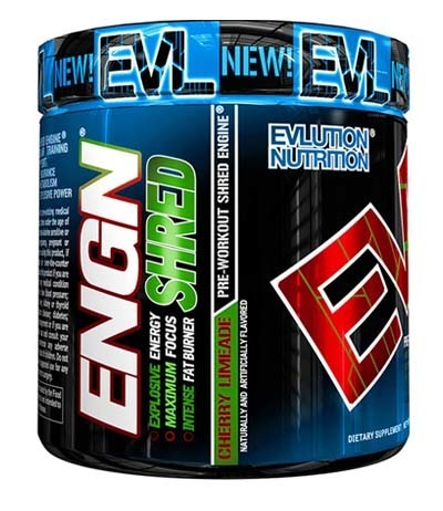 An image of ENGN Shred Jar in Cherry Limeade flavor