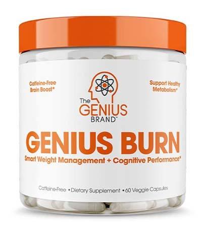 An image of GENIUS BURN Fat Burner Jar