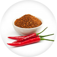 An image of Cayenne , red chillies