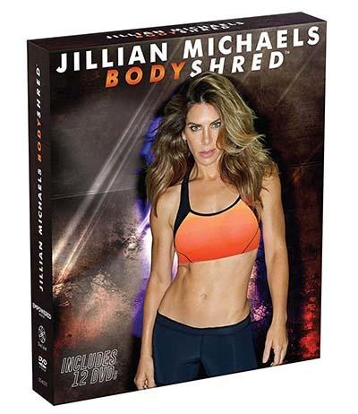 An image of Jillian Michaels BODYSHRED DVD