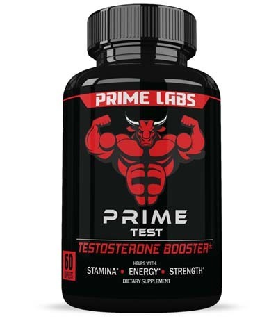 A large image of a jar of Prime Labs Men's.