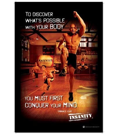 An image of Beachbody Insanity Workout DVD cover