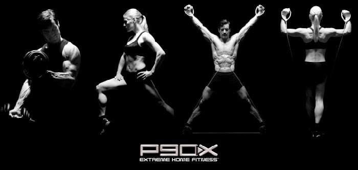 An image showing different workout style that are in P90x