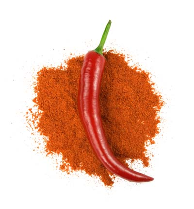 An image of Cayenne Pepper with its extract
