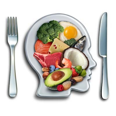 An image of a plate which contains low carbs foods