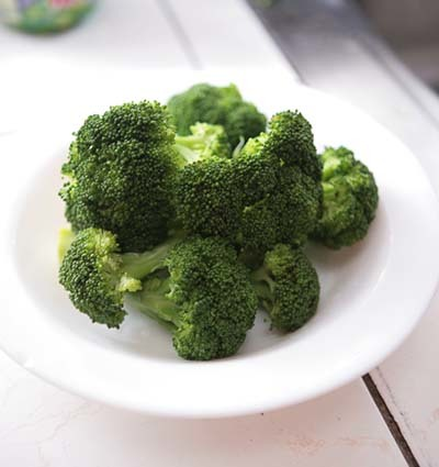 An image of a cooked broccoli