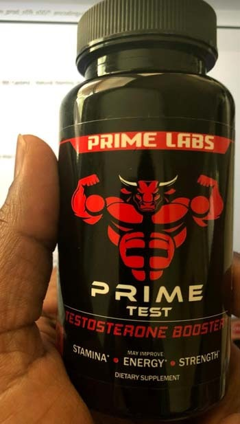 A large image of Prime Labs Men's Testosterone Booster
