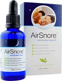 An image of AirSnore Drops with Box