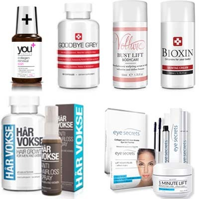 An image of beauty products of  Bauer Nutrition