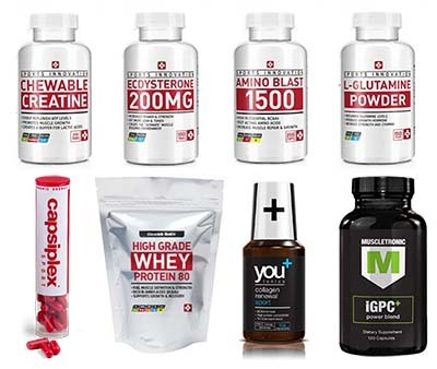 An image of Sports Nutrition Products by  Bauer-Nutrition