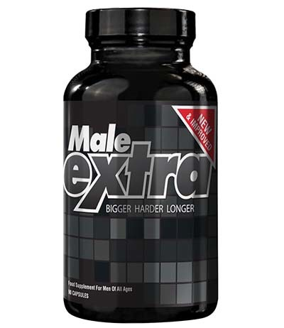 A large image of a jar of Male Extra.